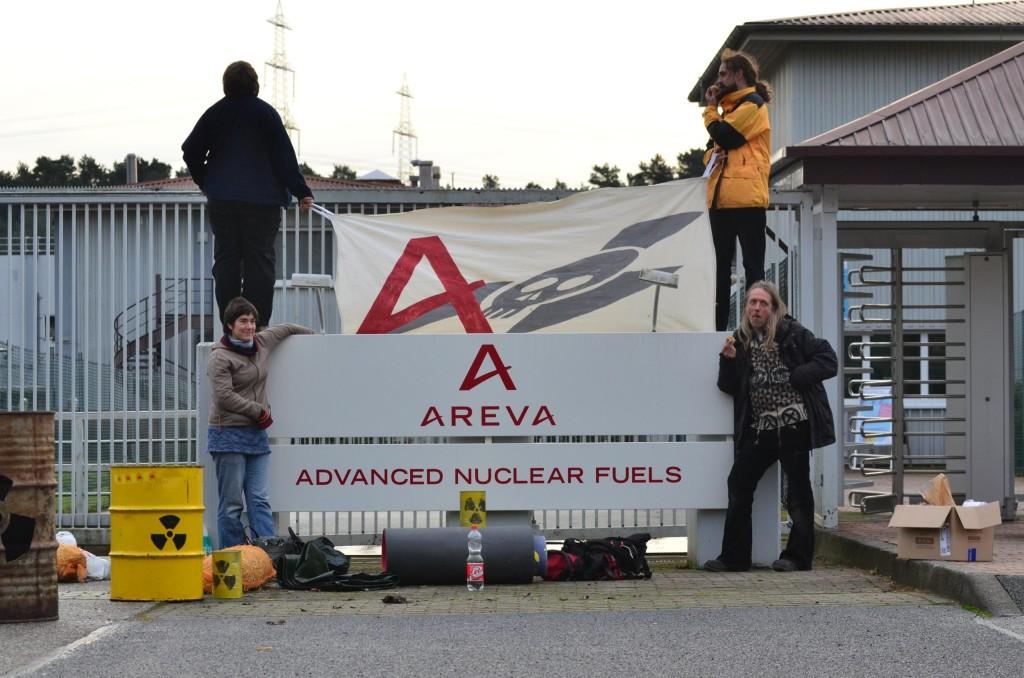 Bescherung für AREVA am 24.12.15