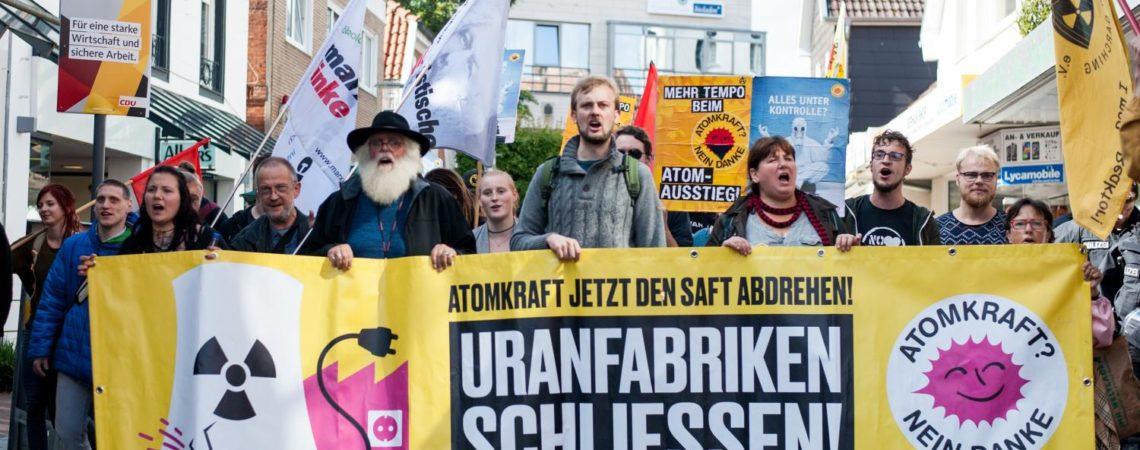 500 Menschen bei Lingen-Demo 2017