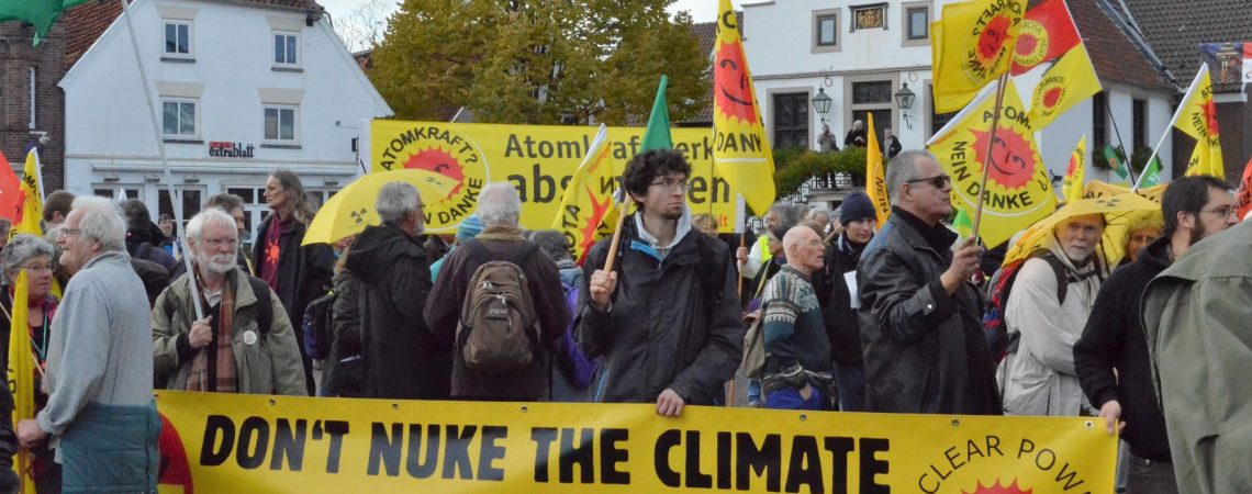 PM 29.10: 700 bei überregionaler Anti-Atomkraft-Demonstration in Lingen