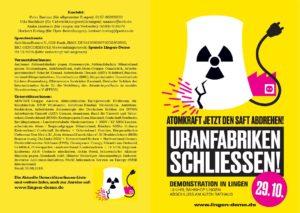 Faltblatt Demo Lingen_1